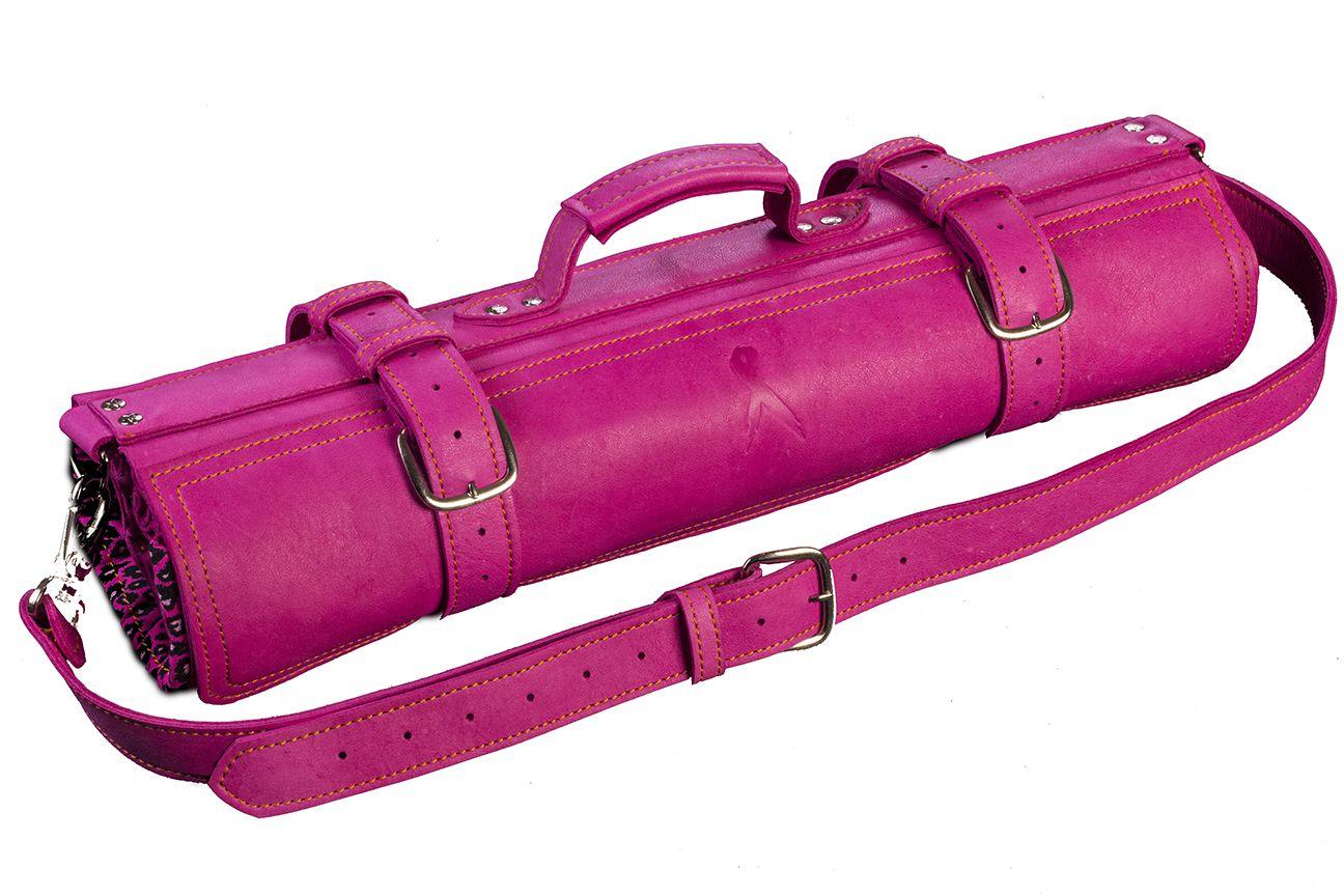 Jende Pink Knife Roll